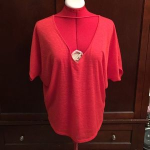 EXPRESS (NWT) Adorable Top, Size M, Color Coral.
